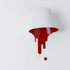 Photo : Lampe liquide : Liquid lamp