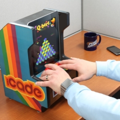 Photo : iPad + Arcade = iCade