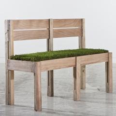Photo : S'asseoir dans l'herbe