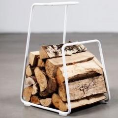 Photo : Panier à bois design