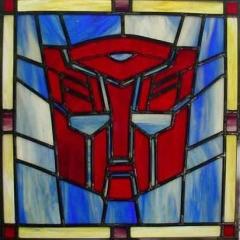 Photo : Vitraux Transformers