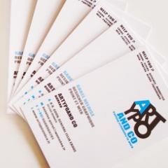 Photo : Cartes de visite avec heymycard.com !