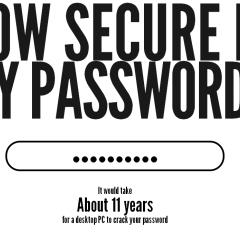 Photo : Est-ce que mon mot de passe est sûr ?