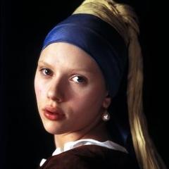 Photo : Scarlett Johansson à la perle