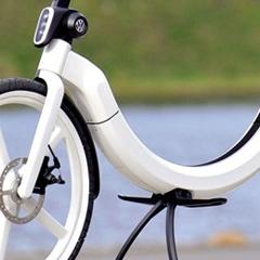 Photo : Vélo électrique pliable Bik.e