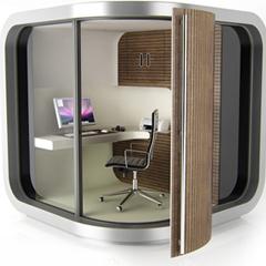 Photo : OfficePod le bureau du futur