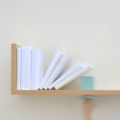 Photo : Étagère serre-livres