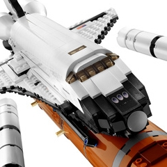 Navette spatiale Lego