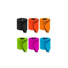 Photo : Papier toilettes couleurs