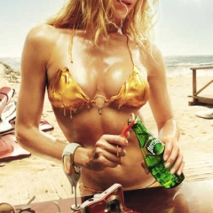 Photo : Pub Perrier et fonte de MSN : buzz ?