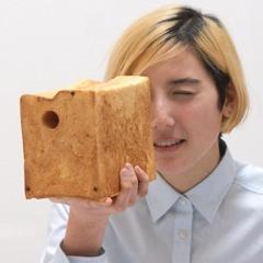 Photo : Ryohei Yoshiyuki peint le pain