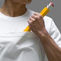 Photo : T-shirt grande poche