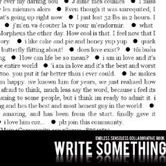 Photo : WriteSomething