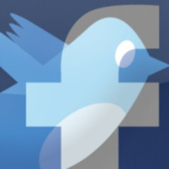 Photo : Amis Facebook depuis Twitter