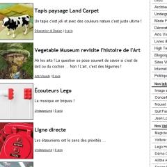 Photo : Blog : nouveau design textuel