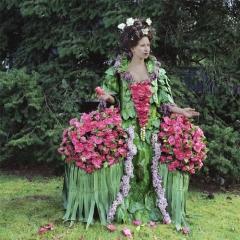 Photo : Robes végétales by Nicole Dextras