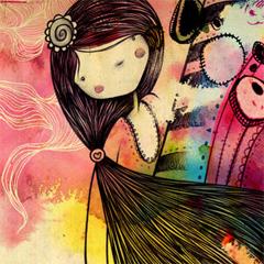Photo : Wallpaper Janis Rainbow