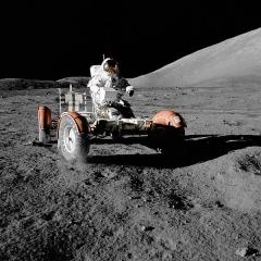 Photo : Astronautes qui ont marché sur la lune
