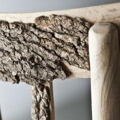 Photo : Chaises en écorce
