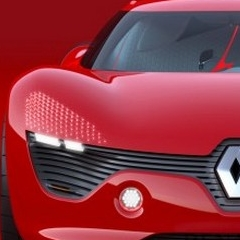 Photo : Renault DeZir Concept Car