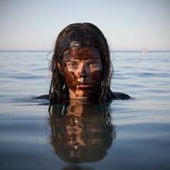Photo : Sous le pétrole, la plage