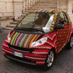 Photo : Smart au crochet