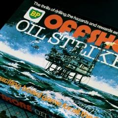 Photo : BP joue avec le pétrole ?