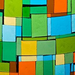 Photo : Vitraux en couleurs