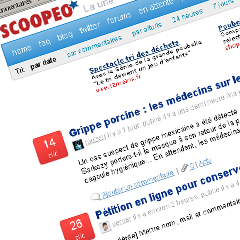 Photo : Scoopeo ferme le 6 mai