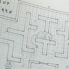 Photo : Pac-Man : croquis originaux