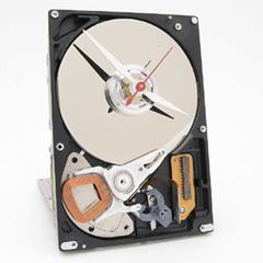 Photo : Horloge disque-dur