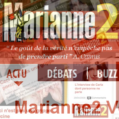 Photo : Marianne2 nouveau site !