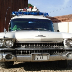 Photo : Ghostbusters Ecto-1 à vendre !