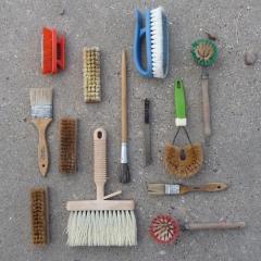 Photo : Les choses soigneusement organisées
