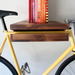 Photo : Bike Shelf le vélo étagère