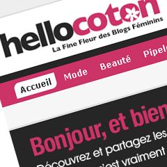 Photo : HelloCoton : un an !