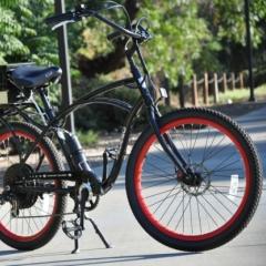 Photo : Vélo électrique amphibie