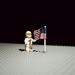 Photo : Les Legos refont l'histoire