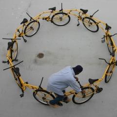 Photo : Vélo infini