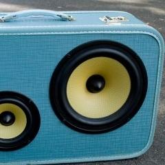 Photo : Haut-Parleurs valise BoomCase