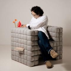 Photo : Planquer son bordel dans le fauteuil