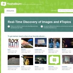 Photo : Suivre les images sur Twitter avec HashAlbum