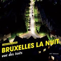 Photo : Bruxelles la nuit vue des toits