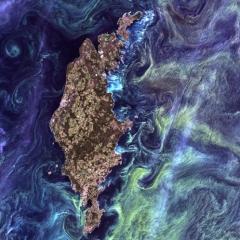 Photo : Van Gogh de l'espace