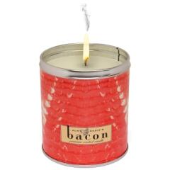 Photo : Bougie au bacon