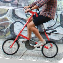 Photo : Vélo pliant STRIDA 5.0