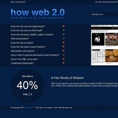 Photo : T'as combien au web 2.0 ?