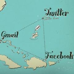 Photo : Triangle des Bermudes de la productivité