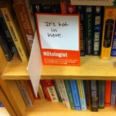 Photo : Notologist
