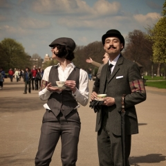 Photo : London Tweed Run
